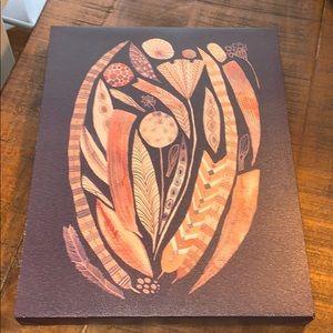 Boho Feather Canvas